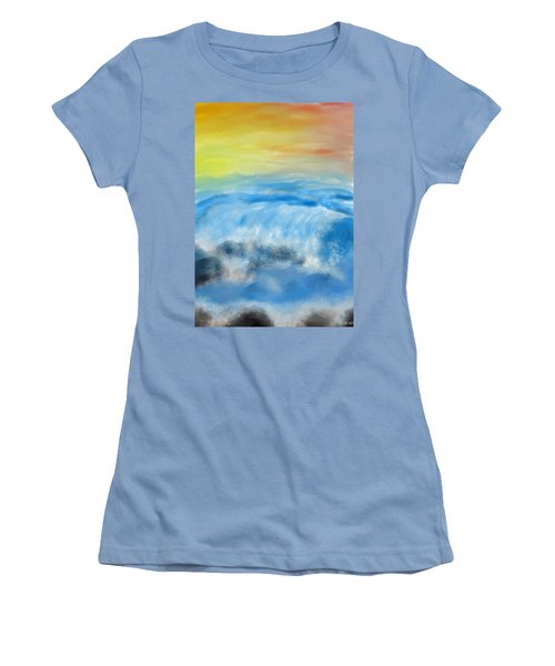 Sea Foam Women's T-Shirt (Athletic Fit)