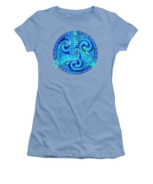 Seahorse Triskele Women's T-Shirt (Junior Cut)