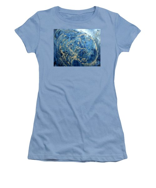Searching Women's T-Shirt (Junior Cut) by Valerie Travers