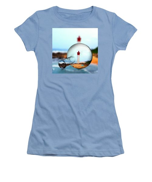Seaside Women's T-Shirt (Athletic Fit)