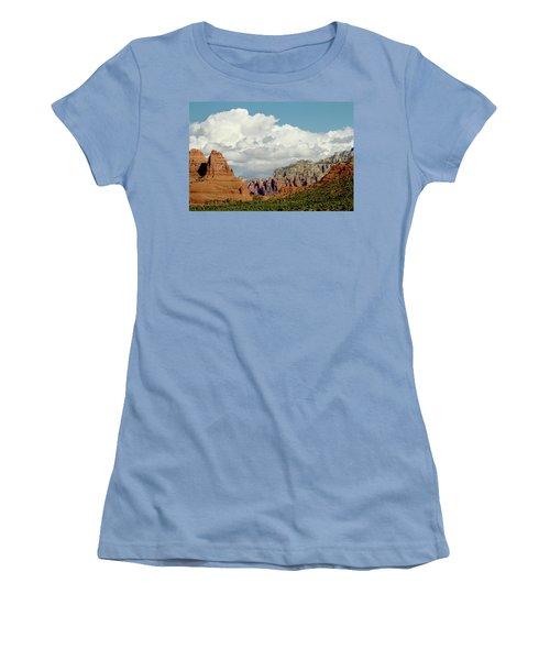 Women's T-Shirt (Junior Cut) featuring the photograph Sedona Arizona by Bill Gallagher