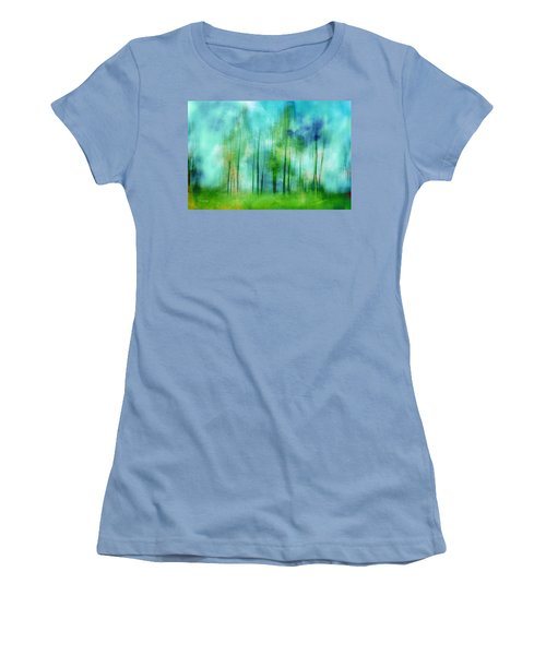 Sense Of Summer Women's T-Shirt (Junior Cut) by Randi Grace Nilsberg