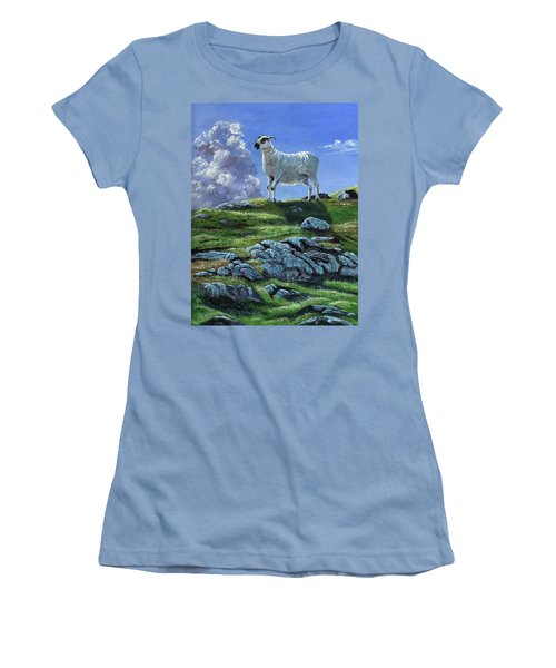Sentinal Of The Highlands Women's T-Shirt (Athletic Fit)