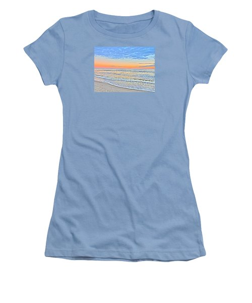 Serene Sunset Women's T-Shirt (Junior Cut) by Shelia Kempf