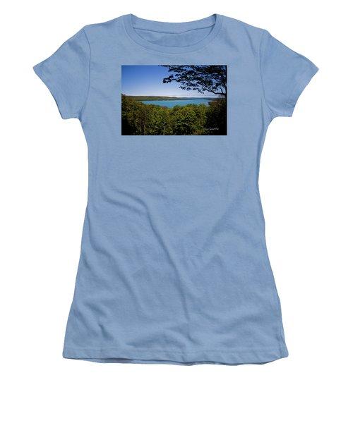 Serenity Women's T-Shirt (Junior Cut) by Joann Copeland-Paul