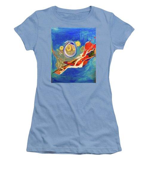 Seventh Dimension Women's T-Shirt (Athletic Fit)