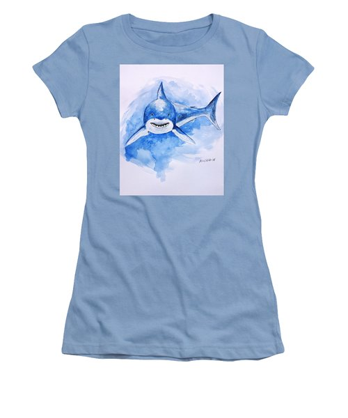 Shark Women's T-Shirt (Athletic Fit)
