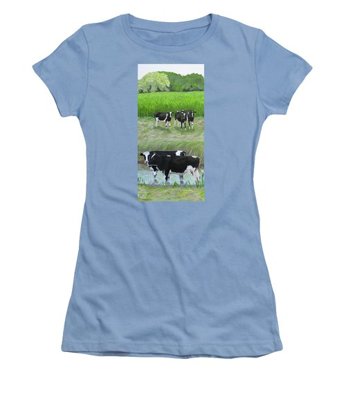 Should We Tell Them? Women's T-Shirt (Athletic Fit)