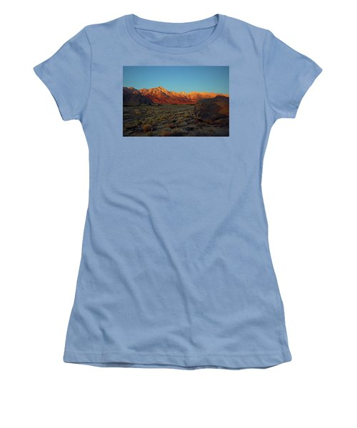 Sierra Nevada Sunrise Women's T-Shirt (Athletic Fit)