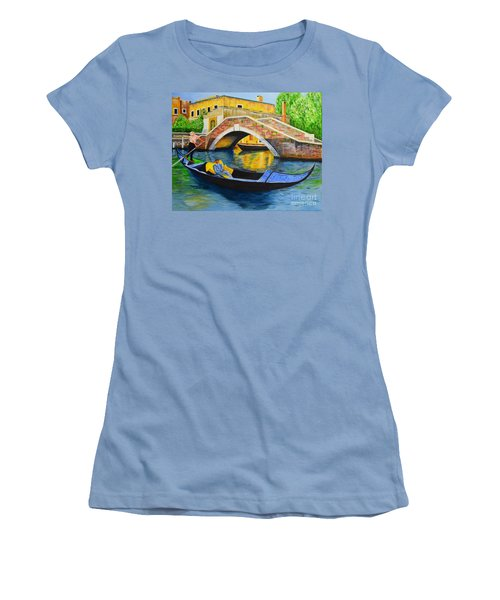 Sightseeing Women's T-Shirt (Junior Cut) by Melvin Turner