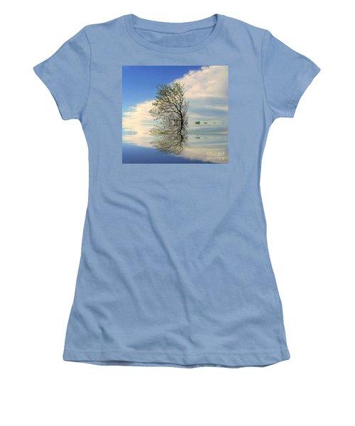 Silence Women's T-Shirt (Junior Cut) by Elfriede Fulda