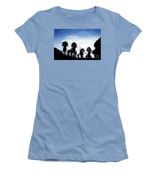 Silhouette In Tropea Women's T-Shirt (Junior Cut) by Ana Mireles