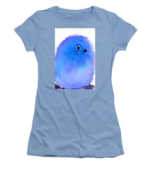 Silly Bird #5 Women's T-Shirt (Junior Cut) by Anne Duke