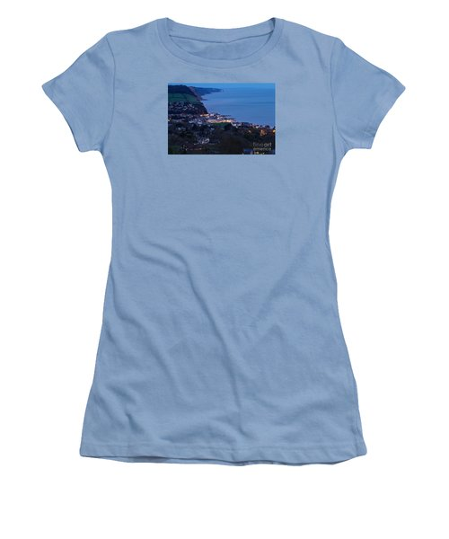 Simouth From A High. Women's T-Shirt (Junior Cut) by Gary Bridger