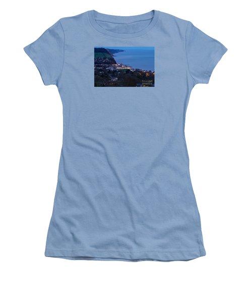 Women's T-Shirt (Junior Cut) featuring the photograph Simouth From A High. by Gary Bridger