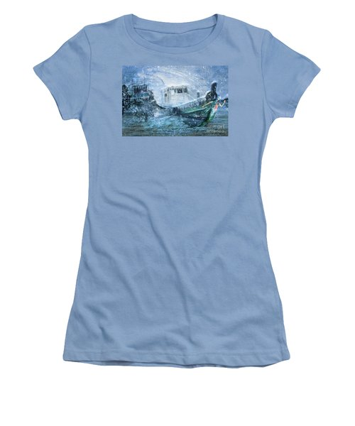 Siren Ship Women's T-Shirt (Athletic Fit)