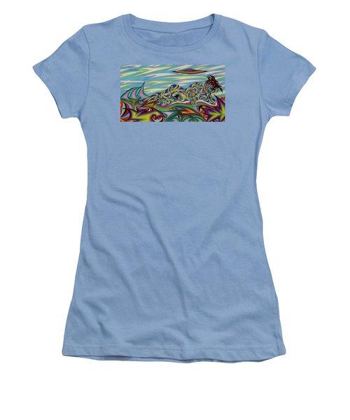 Sirene De Venus Women's T-Shirt (Junior Cut) by Robert SORENSEN