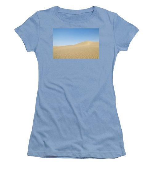 Skn 1412 The Ripples On The Slope Women's T-Shirt (Junior Cut) by Sunil Kapadia