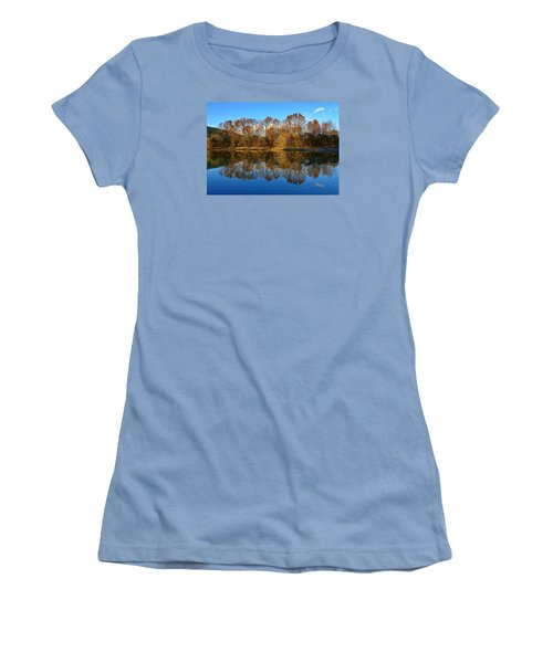 Fraser River Arm  Women's T-Shirt (Junior Cut) by Heather Vopni