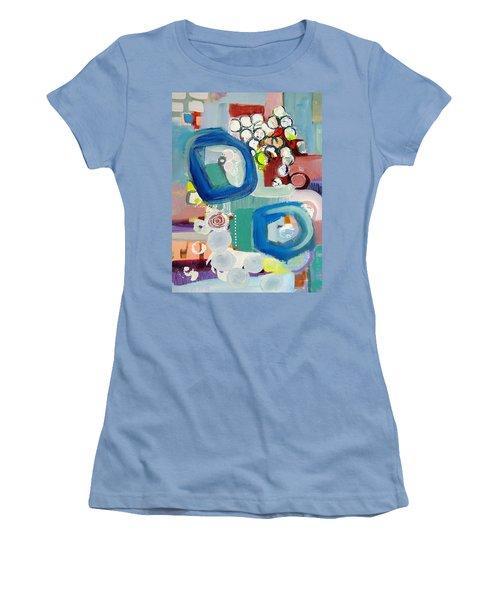 Small Talk Women's T-Shirt (Athletic Fit)