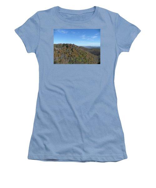 Smokies 7 Women's T-Shirt (Junior Cut) by Val Oconnor