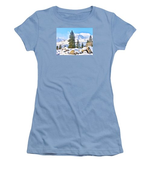 Snow Cool Women's T-Shirt (Athletic Fit)