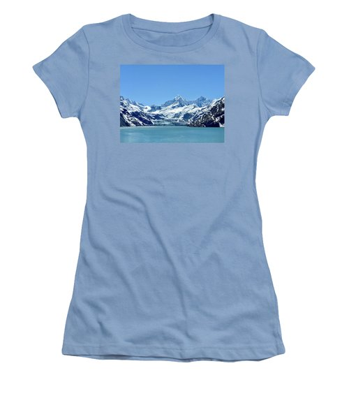 Snow Slide Women's T-Shirt (Athletic Fit)