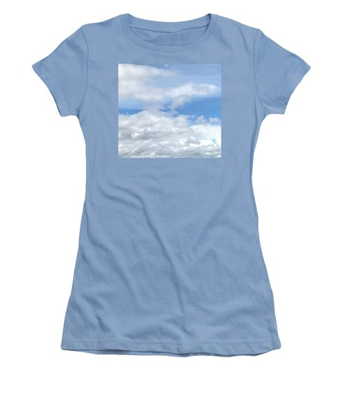 Soft Heavenly Clouds Women's T-Shirt (Athletic Fit)