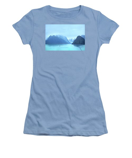 Women's T-Shirt (Athletic Fit) featuring the photograph Sojourn by John Poon