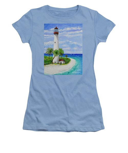 Somewhere Beautiful Women's T-Shirt (Athletic Fit)