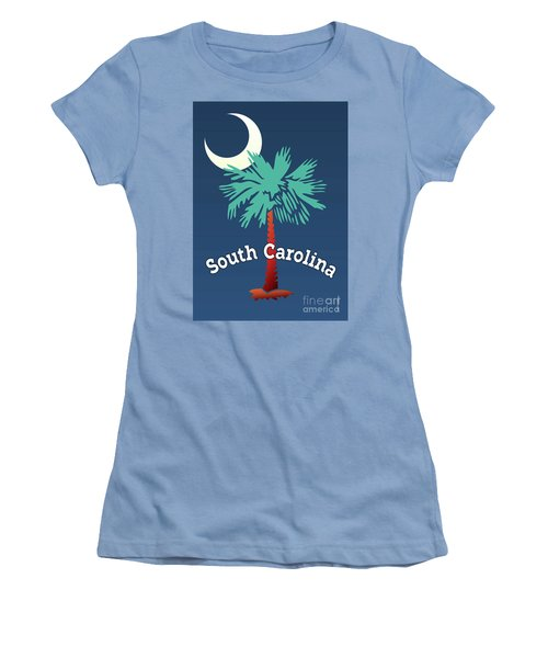 South Carolina Palmetto Women's T-Shirt (Athletic Fit)