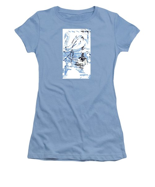 Spirit Animal . Swan Women's T-Shirt (Junior Cut) by John Jr Gholson