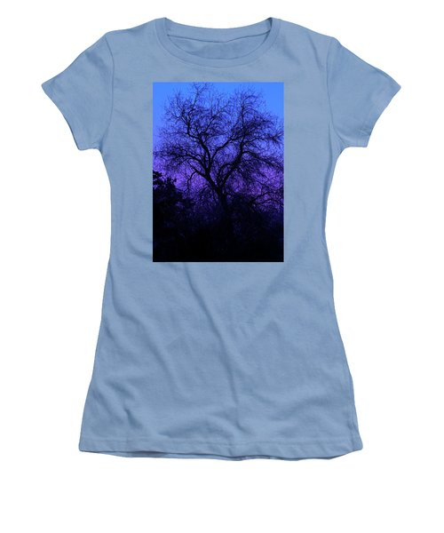 Spooky Tree Women's T-Shirt (Athletic Fit)