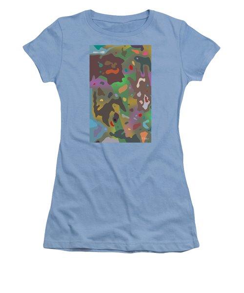 Spotsville Women's T-Shirt (Junior Cut) by David Klaboe