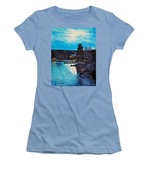 Spring Lake Nocturn Women's T-Shirt (Athletic Fit)