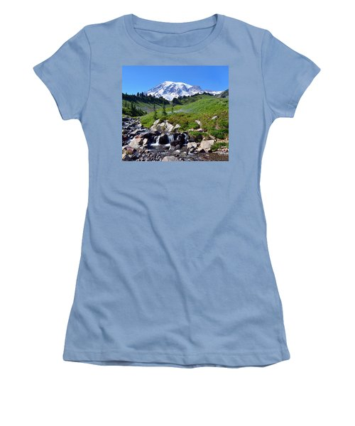 Springtime At Paradise 3 Women's T-Shirt (Athletic Fit)