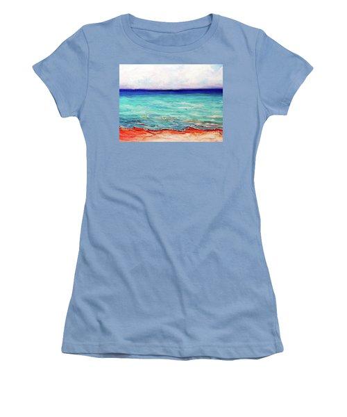 St. George Island Breeze Women's T-Shirt (Junior Cut) by Ecinja Art Works