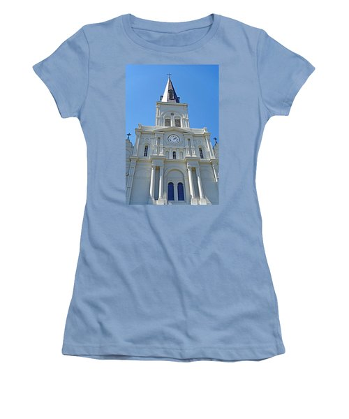 St. Louis Cathedral Study 1 Women's T-Shirt (Athletic Fit)