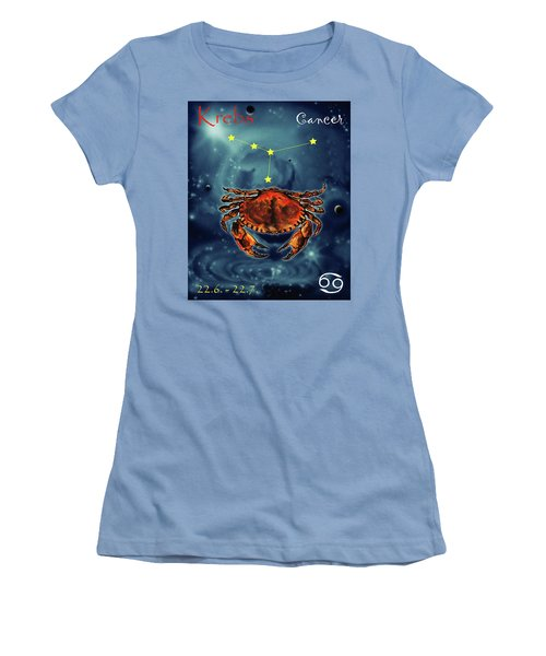 Star Of Cancer Women's T-Shirt (Athletic Fit)