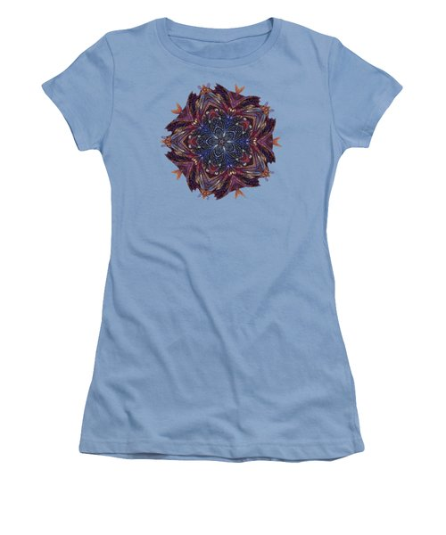 Start Of Paisley Patterns Women's T-Shirt (Athletic Fit)