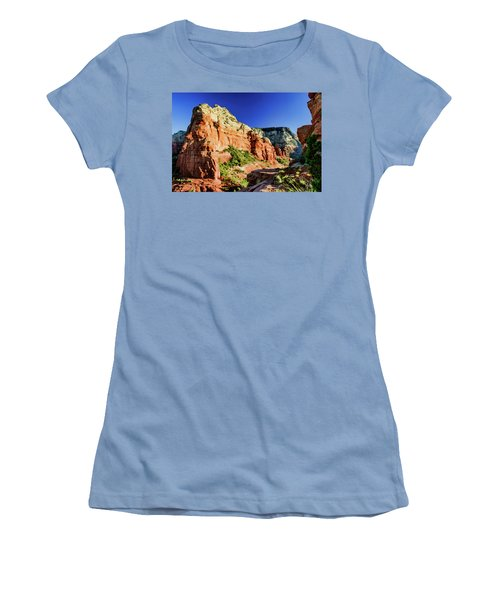 Steamboat 07-158 Women's T-Shirt (Junior Cut) by Scott McAllister