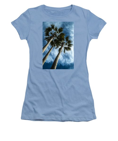 Stormy Palms 1 Women's T-Shirt (Athletic Fit)