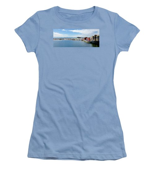 Summers End Capitola Beach Women's T-Shirt (Athletic Fit)
