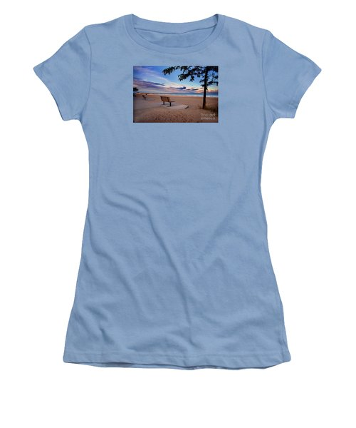Summers Over Women's T-Shirt (Junior Cut) by Randall  Cogle