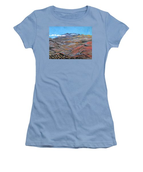 Sun Salutation At Haleakala Women's T-Shirt (Athletic Fit)