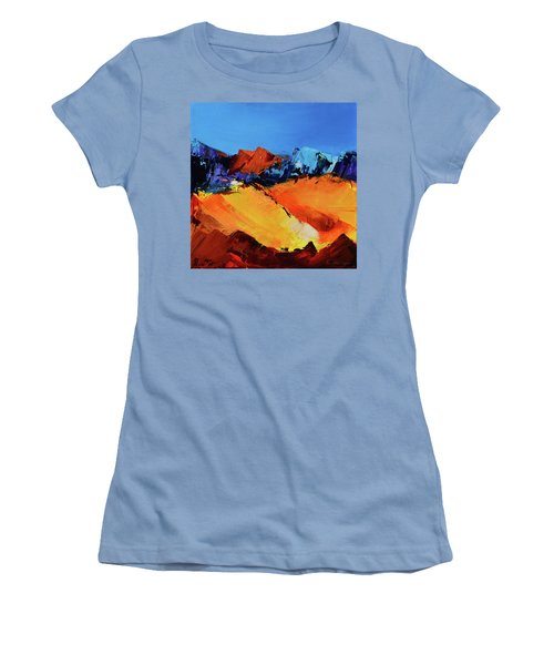 Sunlight In The Valley Women's T-Shirt (Athletic Fit)