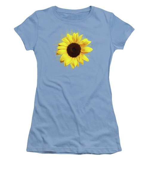 Sunlover Women's T-Shirt (Junior Cut) by Gill Billington