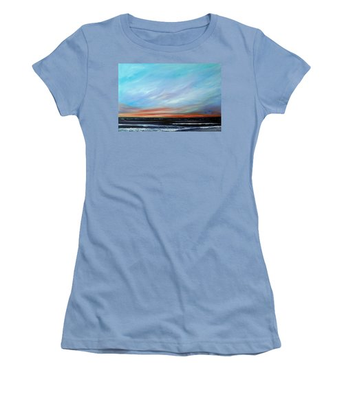 Sunrise And The Morning Star Eastern Shore Women's T-Shirt (Athletic Fit)