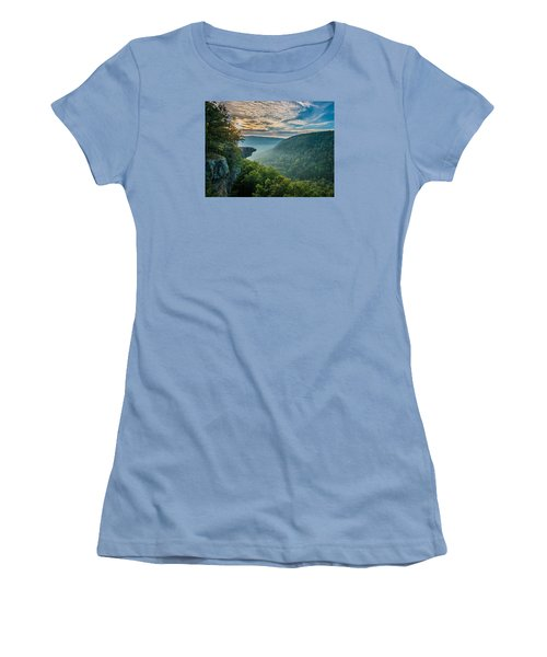 Sunrise At Hawksbill Crag Women's T-Shirt (Athletic Fit)