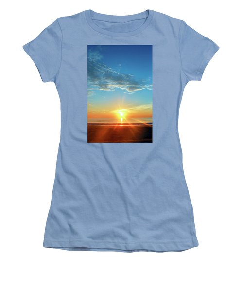 Sunrise With Flare Women's T-Shirt (Athletic Fit)